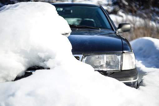 Winter, Snow, Cold, Frost, Car, Outdoors, Vehicle