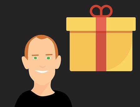 Gift Box, Present, Gift Card, Christmas Gifts