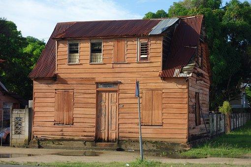 House, Door, Window, Wood, Architecture, Building