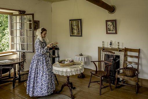 Furniture, Room, Chair, Indoors, Pioneer, Needlework