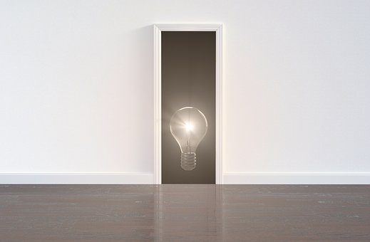 Idea, Innovation, Business, Way, Strategy, Plan, Door