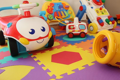 Fun, Child, Toy, Colours, Kindergarten