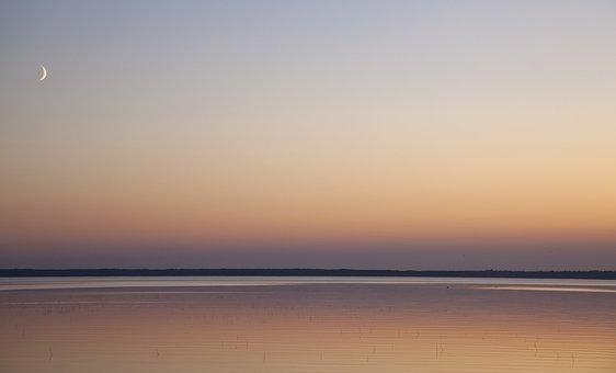 Sunset, Sky, Landscape, Finnish, Horizon, Evening