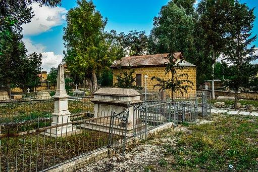 Church, Cemetery, Architecture, Old, Nicosia, Lefkosia