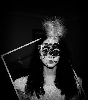 People, Portrait, Costume, Mask, Adult, Masquerade