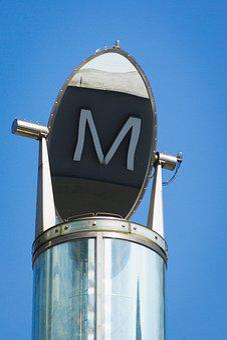 Steel, Mirror Image, Technology, Metro