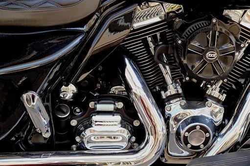 Motorcycle, Bike, Moto, Harley Davidson, Motor, Engine