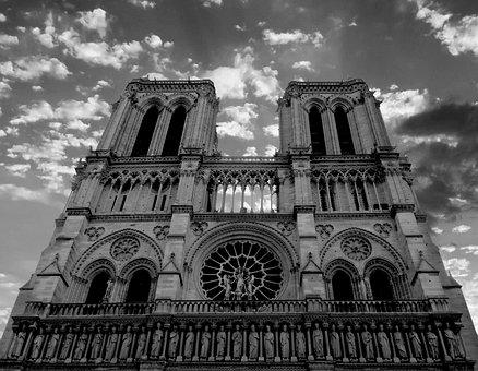 Paris, Notre Dame, Architecture, Church, Travel
