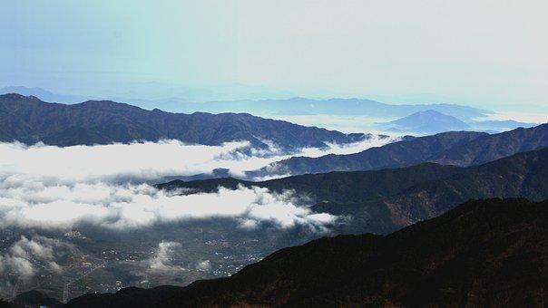 Panorama Of, Nature, Mountain, Scenery, Jiri