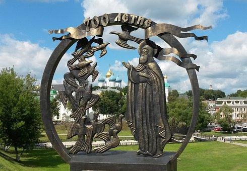 Russia, Sergiev Posad, Monastery, Tourism, Church