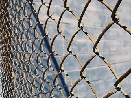 Fence, Chain Link, Metal, Security, Barrier, Pattern