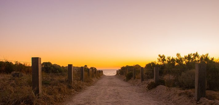 Sunset, Dawn, Nature, Panoramic, Sky, Landscape, Sun