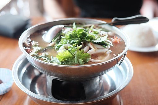 Tom Yum Kung, Thailand Food, Hot And Sour Soup, Food