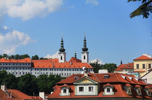 Monastery, Prague, Czechia, Architecture, Travel, City