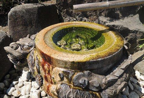 Water, Dragon, Beautiful, Japan