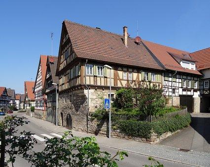 Wine City, Fachwerkhaus, Remstal, Strümpfelbach