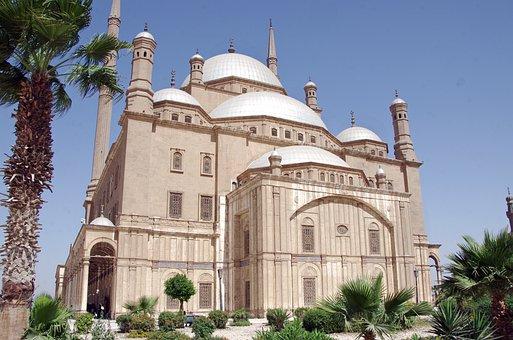 Egypt, Cairo, Mosque, Alabaster Mosque, Citadel