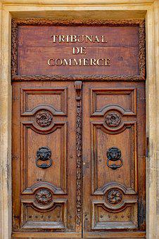 Door, Wood, Wooden, Ancient, Architecture, Court