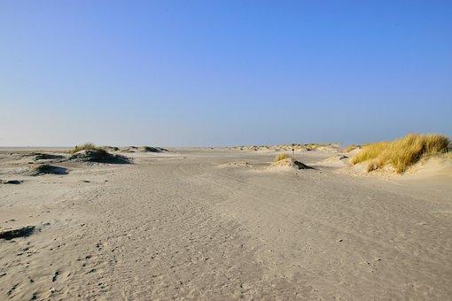Sand, Desert, Nature, Landscape, Sky, Dune, Beach, Sea