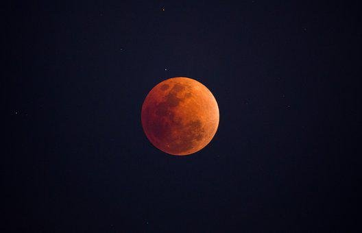 Moon, Astronomy, Lunar, Luna, Blood Moon, Space