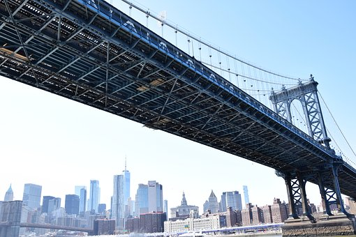 Manhattan Bridge, New York, Bridge, Architecture