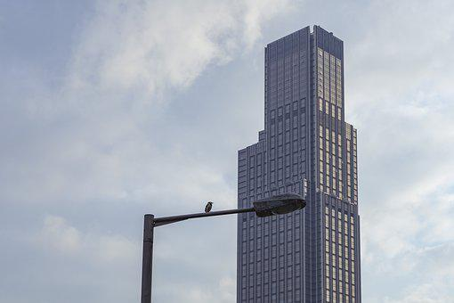 Sky, Building, High, Skyscraper, City, Outdoor