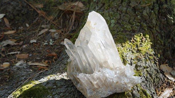Nature, Wood, Outdoors, Crystals, Natural, Organic