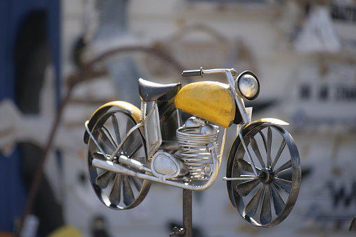 Wheel, Equipment, Motorcycle, Art, Metal-art