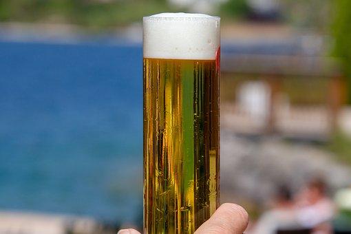 Beer, Drink, Alcohol, Beer Glass, Glass, Foam