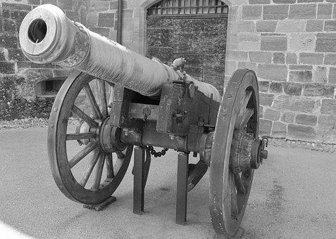 Cannon, Gun, Weapon, War, Military, Gun Barrel