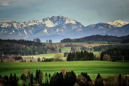 Mountain, Panorama, Nature, Landscape, Sky, Alpine
