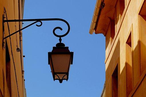 Street Light, Lamp, Lantern, Old, Light, Retro