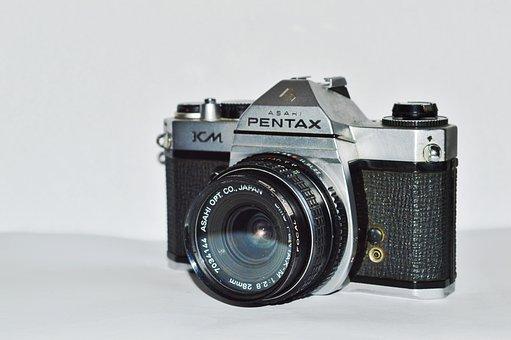 Lens, Antique, Classic, Old, Photo, Equipment, Retro