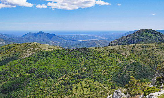 South Of France, Maritime Alps, Mediterranean, Le Var