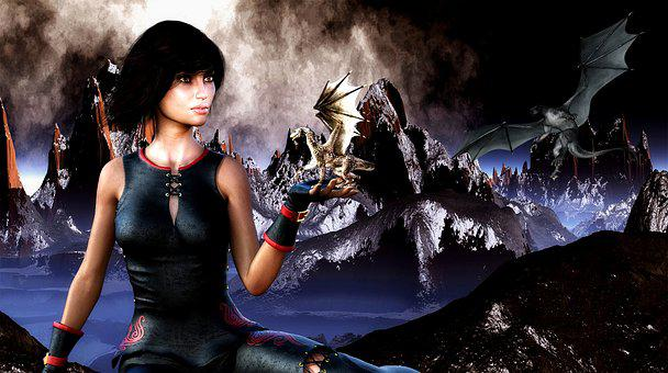 Woman, Magical, Mystical, Fantasy, Female, Magic