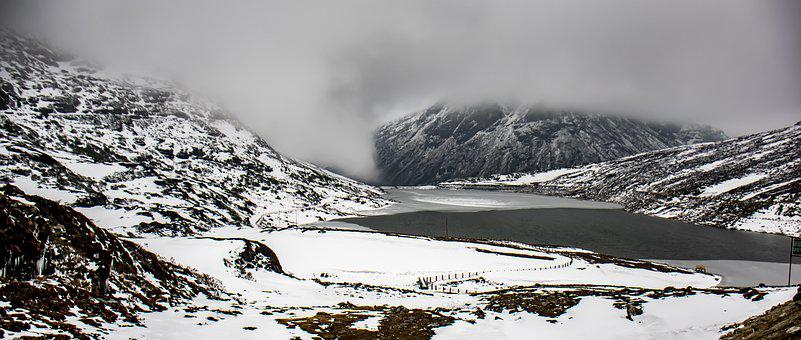 Snow, Winter, Nature, Cold, Ice, Landscape, Mountain