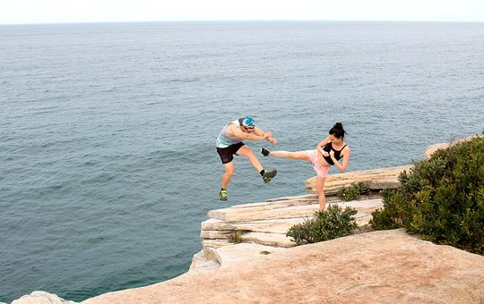 Summer, Waters, Sea, Leisure, Ease, Pair, Couple