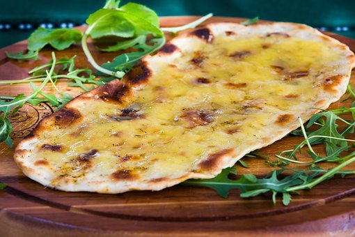 Food, Bread, Pizza, Cheese, Italian, Mediterranean