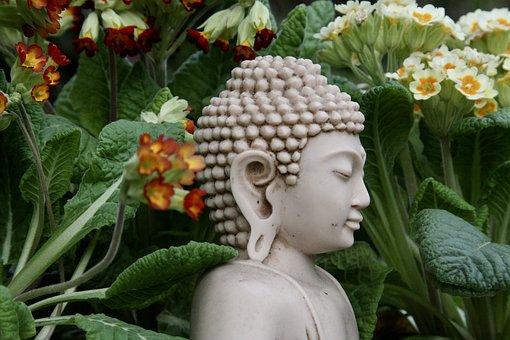 Buddha, Statue, Sculpture, Religion, Zen, Garden