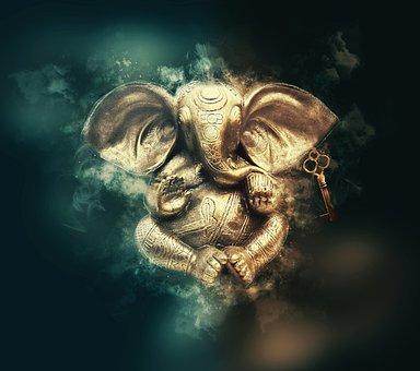 Ganesha, Ganesh, God, Pay, Religion, Meditation, India