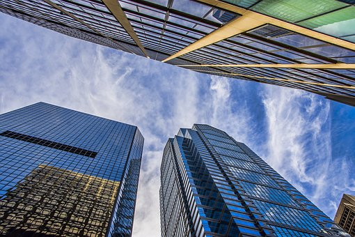 Glass Items, Business, Modern, Office, Skyscraper