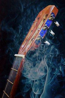 Background, Sound, Music, Smoke, Art