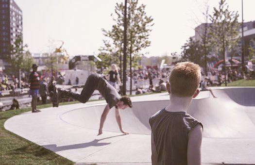 People, Adult, Outdoors, Tree, Park, Boy, Kid, Watching
