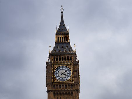 Tower, London, Clock, Architecture, Travel