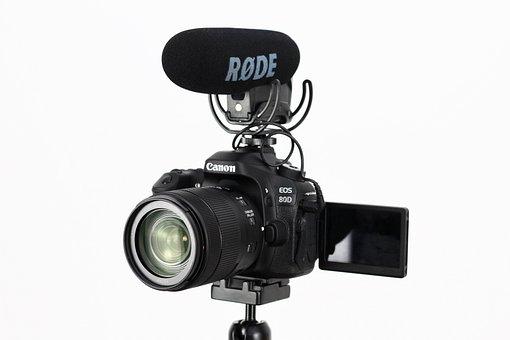 Lens, Isolated, Equipment, Flash, Technology, Tripod