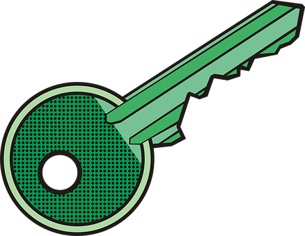 Key, Keychain, Lock, Drawing, Graphics