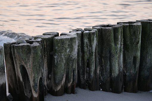 Waters, Nature, Sea, Baltic Sea, Groyne, Breakwater