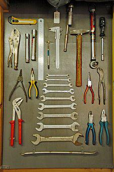 Tools, Keys, Tang, Hammer, Hang, Neat