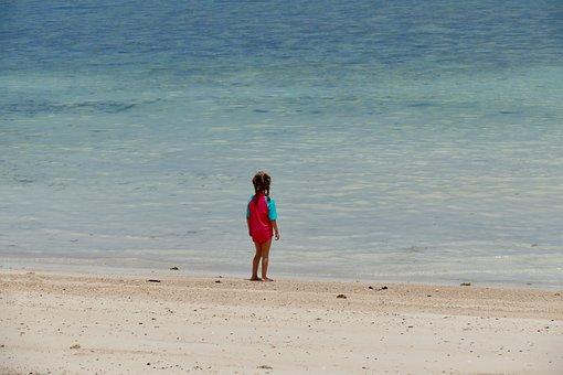Beach, Sand, Sea, Ocean, Coast, Waters, Summer, Holiday