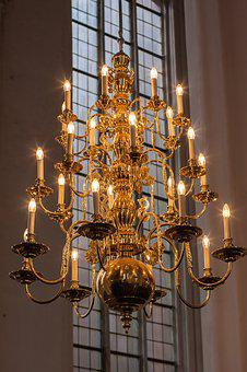 Lamp, Candle, Ornament, Chandelier, Religion, Light